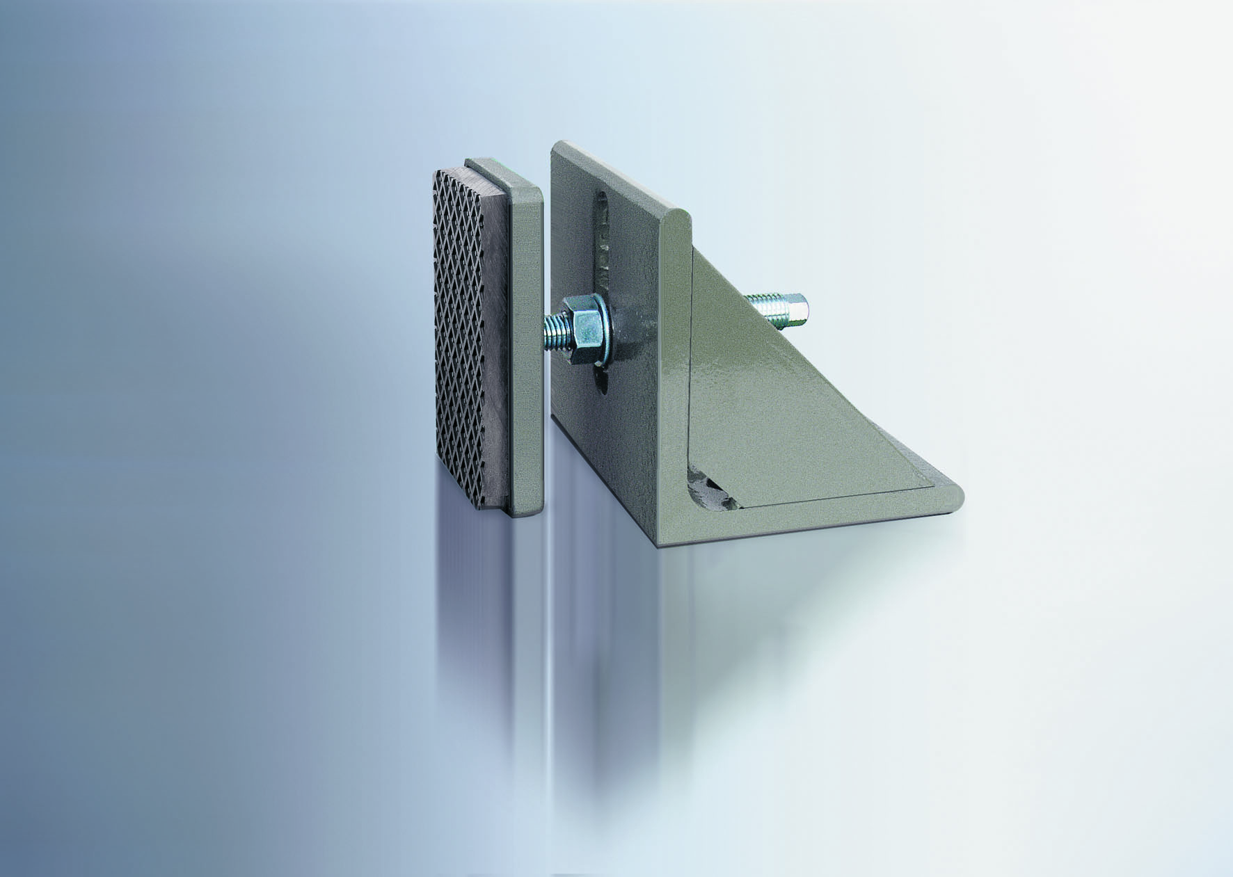 Horizontal Elements 90 Degree Angle Plate With